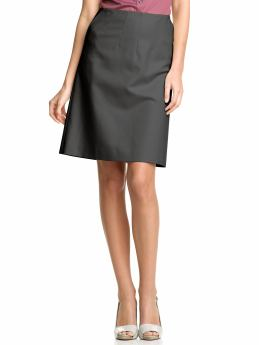 A-line instead of pencil skirts for business casual ...