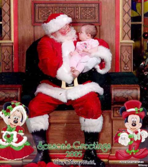 Best Santa Claus baby picture every