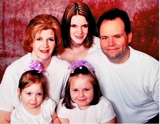 Skamarakas family portrait 2008