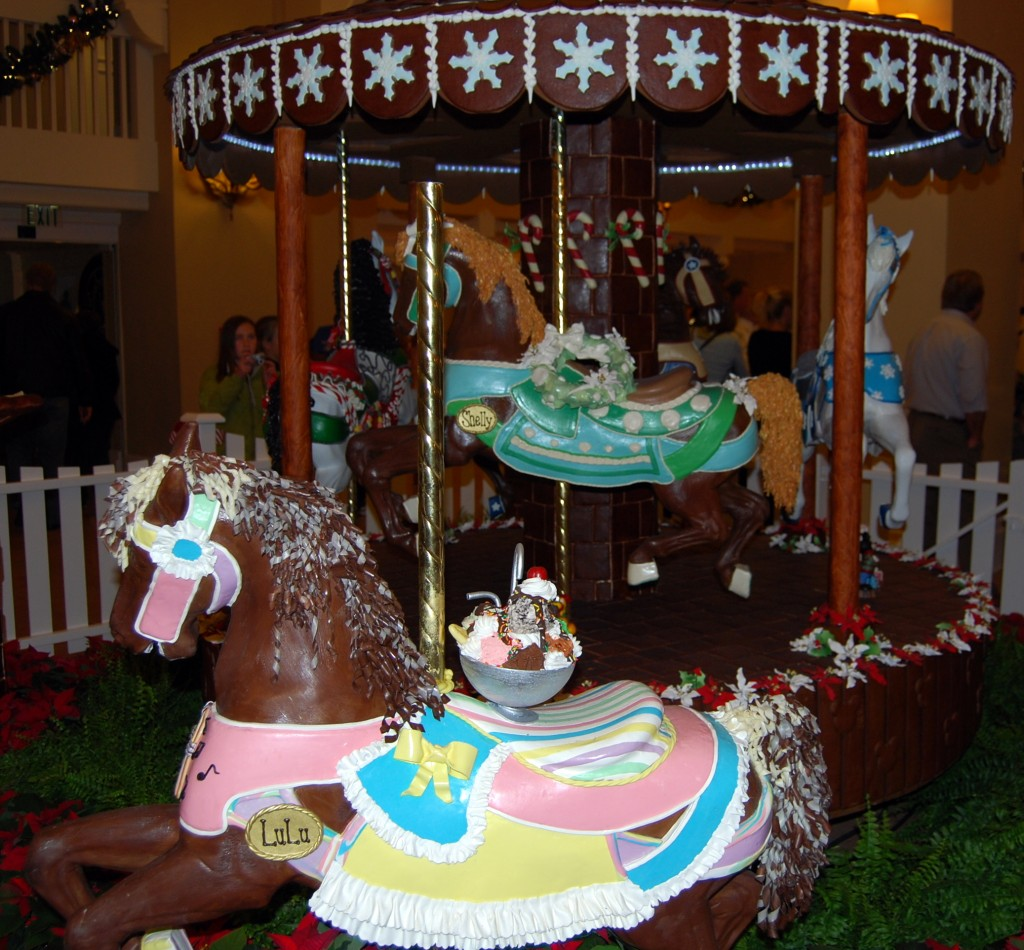 Chocolate carousel