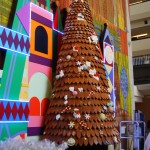 Contemporary gingerbread tree