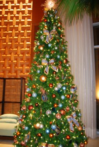 Themed Bay Lake Tower Tree