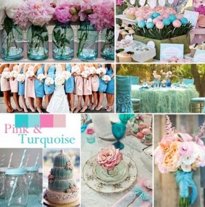 Color based wedding theme
