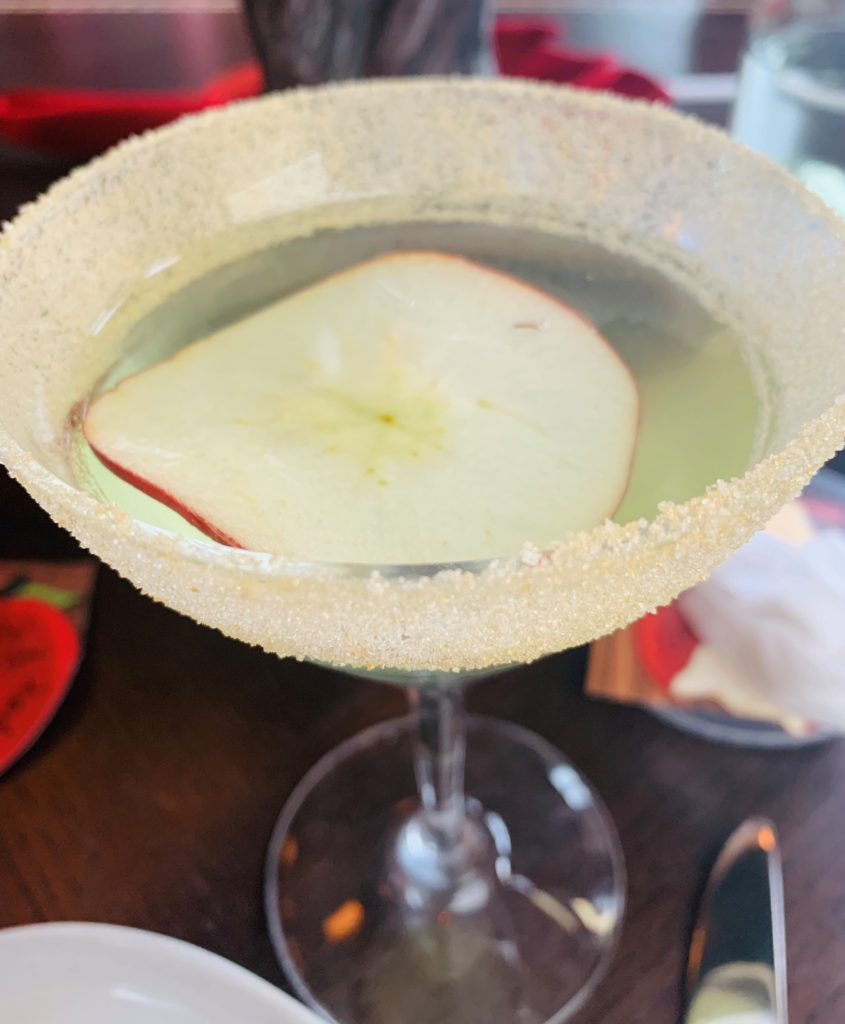 Enchanted apple cocktail